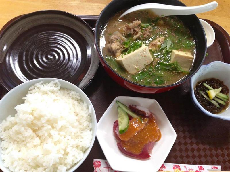 国頭港食堂,定食,魚